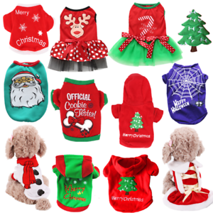 Christmas-Santa-Pet-Clothes-Warm-Coat-Cat-Dog-Hoodie-Puppy-Jumpsuit-Vest-Costume