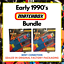 miniatura 1 - Matchbox-1991-joblot-Pacote-In-A-Box-Carros-Lightning-Desafio-conjuntos-de-Lancador-De-Dupla-x2