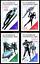 miniature 1 - EBS-East-Germany-DDR-1988-Winter-Olympics-Calgary-Michel-3140-3143-MNH