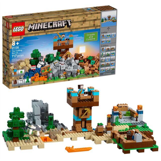 LEGO® Minecraft™ - The Crafting Box 2.0 21135 717 Pcs
