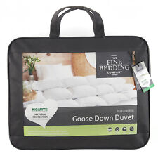 Fine Bedding Company Goose Down Natural Duvet Quilts Pillows All Tog Sizes