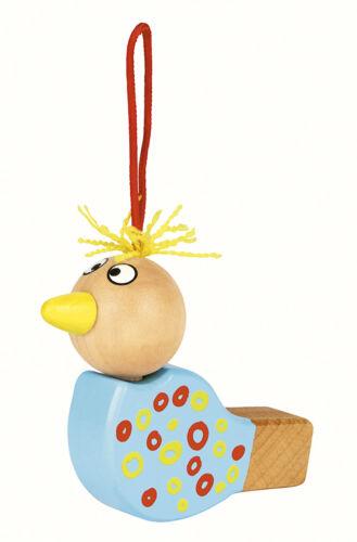 Holzspielzeug Vogelpfeife unterschiedliche Farben von Moses Holzspielzeug
