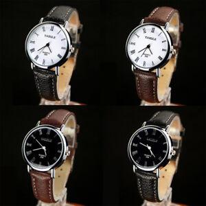 Fashion-Men-Women-Casual-Quartz-Leather-Strap-Wrist-Watches-Roman-numerals-Watch