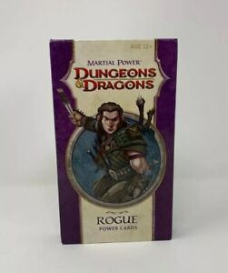 Dungeons-amp-Dragons-MARTIAL-POWER-Rogue-Power-Cards-Wizards-Of-The-Coast