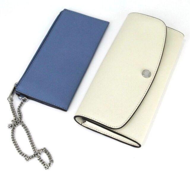 b89a72017fdb Michael Kors Juliana Colorblock Leather 3 in 1 Large Flap Wallet Ec ...