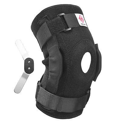 Gallant Adjustable Neoprene Hinged Knee Stablizing Brace Steel Support Medicial