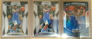 Zion-Williamson-ROOKIE-CARD-PANINI-PRIZM-3-CARD-LOT-SUPER-HOT-PRIZM-RC-HOT
