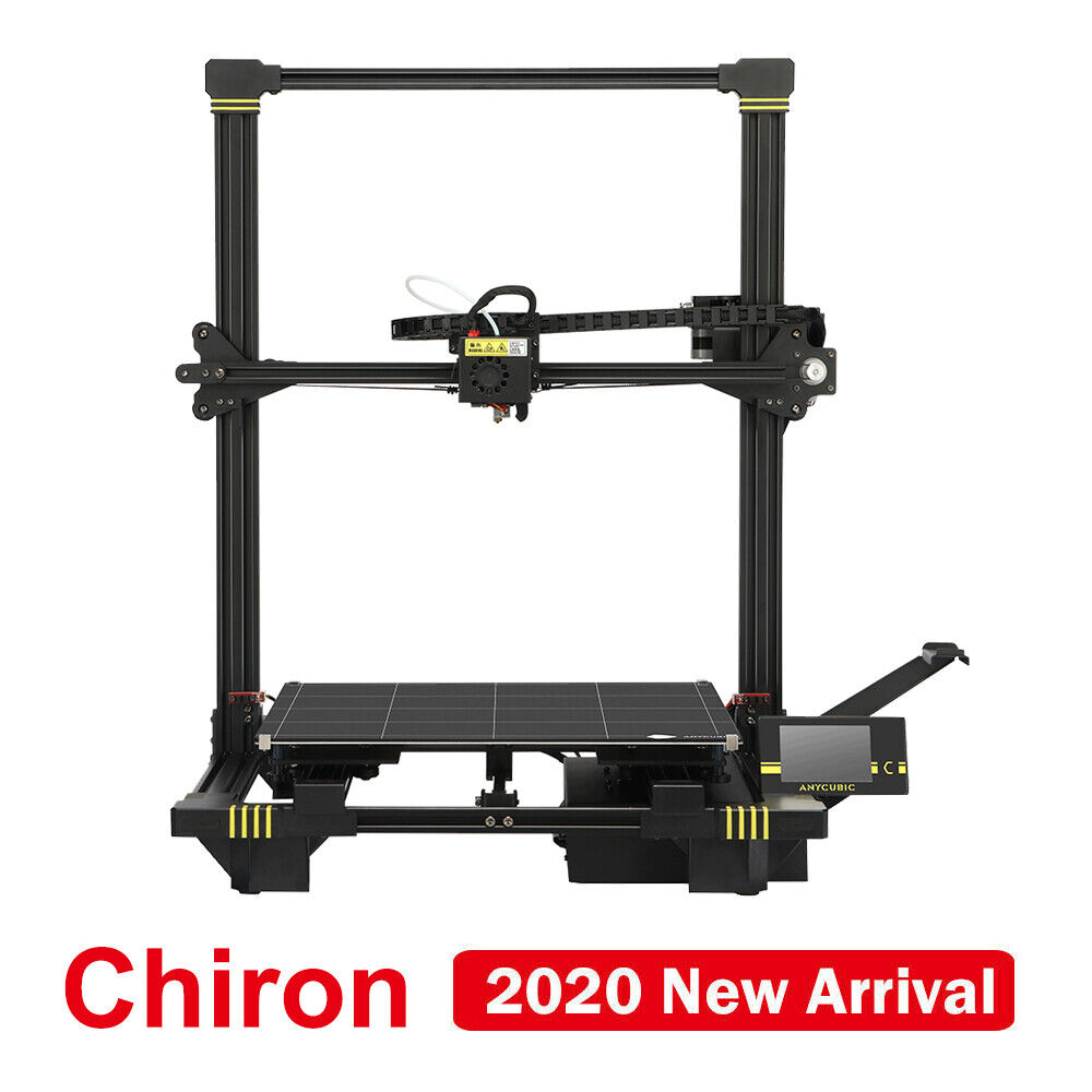ANYCUBIC Chiron 3D Printer Huge Build Volume Matrix Automatic Level Resume Print Anycubic automatic build chiron huge level matrix printer resume volume