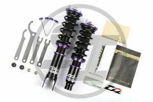 For 11-18 Ford Fiesta D2 Racing RS Series Adjustable Suspension Coilovers