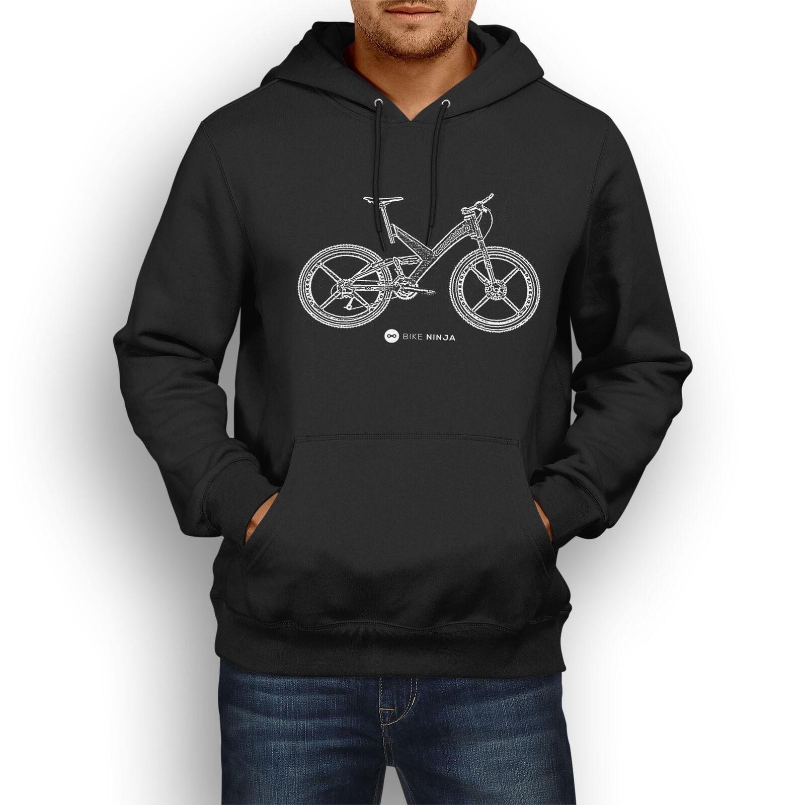 Retro Classic Cannondale Raven Hoody MTB Bike Ninja