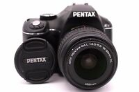 PENTAX Pentax K K-x 12.4 MP Digital SLR Camera - Black (Kit w/ DAL 18-55mm Lens)