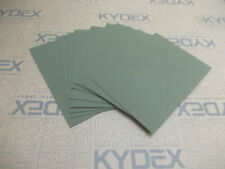 5 Pack 2 mm A4 KYDEX T Sheet 297 mm x 210 mm P-1 Olive drab Green 32140 Holsters
