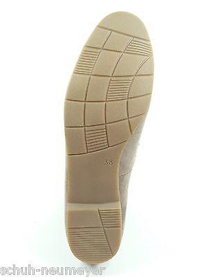 MarcoTozzi Damen Schuhe Halbschuhe Ballerinas in Pepper Grau Art.Nr.:2-22111-22