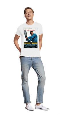 Bud Spencer Piedone Lo Sbirro Locandina Film Maglietta T Shirt Maglia T Shirt