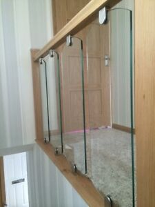 Image Is Loading 10mm Glass Decking Spindle Panel Railing Infills Staircase