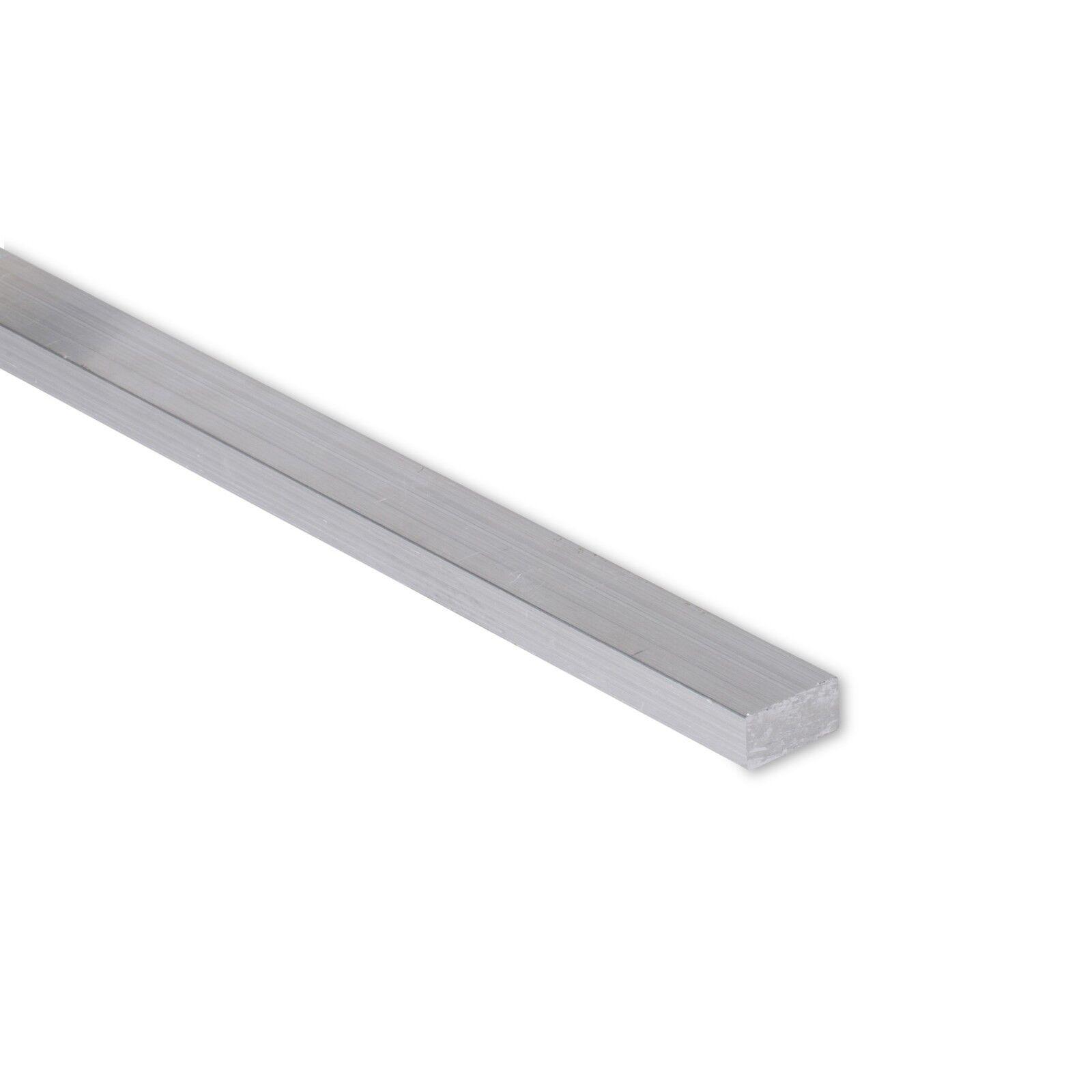 """24/"""" Length 0.50/"""" 1//2/"""" x 6/"""" Aluminum Flat Bar 6061 Plate T6511 Mill Stock"""