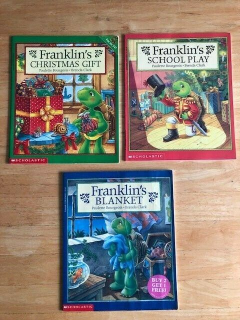 3 Franklin Books By Paulette Bourgeois