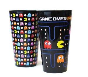 Pac-Man Black Pint Glass 2-Pack