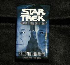 Star Trek ccg 2E seccond edition premiere complete set 415 cards