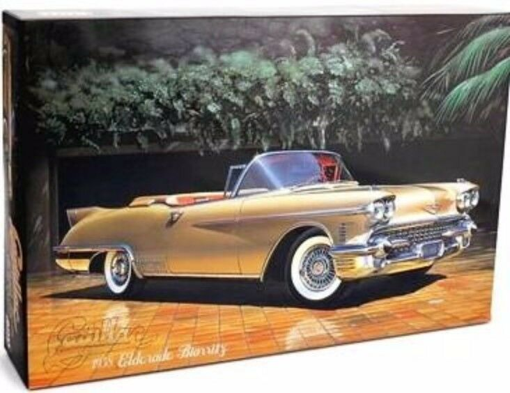 Micro Ace 1 24 '58 Cadillac open type type type model kit From Japan F S e5f9a6