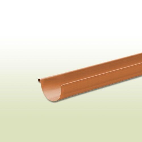 Kupfer Dachrinne halbrund RG 333 mm - Länge: 2 Meter