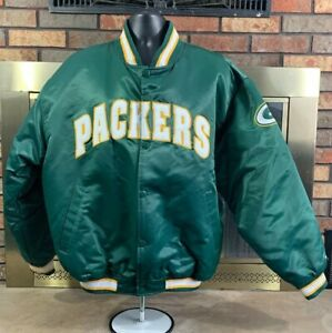 Satin Bomber Jacket Coat Football NFL