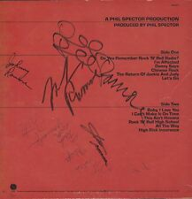 RAMONES LP Signed Autographed End Of The Century by Joey Ramone Johnny Dee Marky