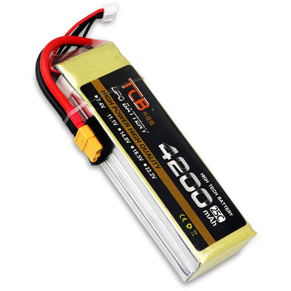 11.1V 3S 4200mAh 25C Batería Lipo XT60 Enchufe Burst 50C radio control modelo lipolymer Power