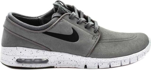 sprzedawca hurtowy Pierwsze spojrzenie wyprzedaż hurtowa Nike STEFAN JANOSKI MAX L Cool Grey Black White Skate (D) (458) Men's Shoes