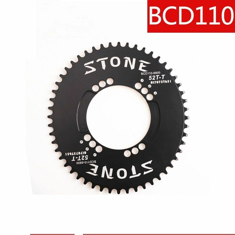BCD110 Single Chainring Oval Narrow Wide for Shimano M6800 M5800 4700 9000 crank