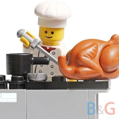 Lego Chef + Kitchen Oven Turkey from Parisian Restaurant 10243 - NEW