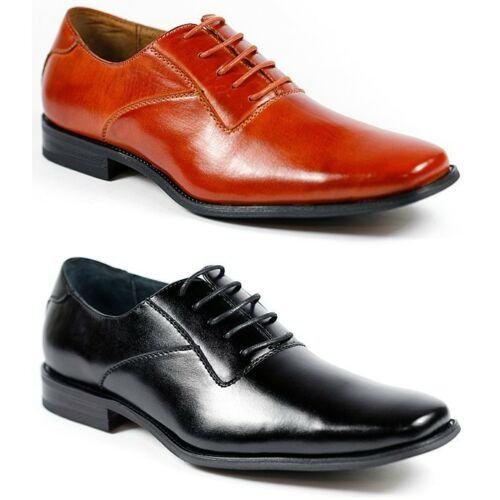 Ferro Aldo Mens Lace Up Classic Dress Shoes MFA-19277