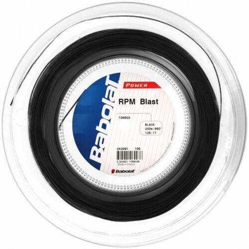 BABOLAT RPM BLAST TENNIS STRING 1.25mm GAUGE 200 METER REEL CHOICE OF RAFA NADAL