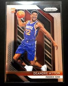 Deandre-Ayton-Panini-Prizm-Basketball-Card-2018-2019-Suns-English-NM-EX-Rookie