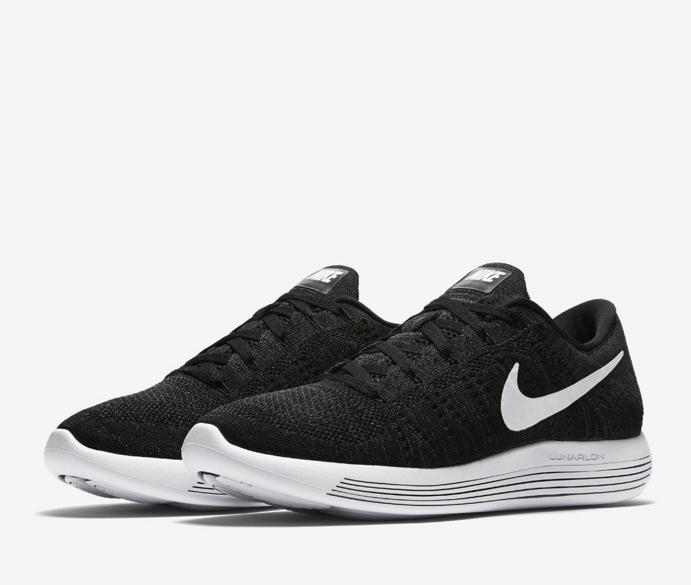 nike lunarepic faible flyknit chaussure chaussure chaussure d'homme [taille 14] noir / blanc 843764-002 6fcd21