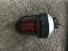 Federal Signal 191xl Red Led Safety Light Strobe Hazardous Enclosed 4 Mill