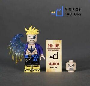 ⎡MINIFIGS FACTORY⎦Custom One Piece Smoker Lego Minifigure
