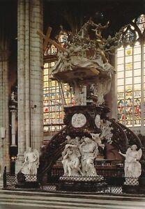 alte-AK-Gent-St-Baafs-Kathedrale-Kanzel-Belgien-ungelaufen-Ansichtsk-B001h