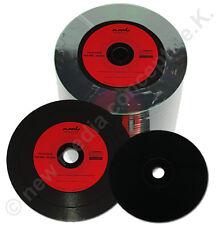 Vinyl CD Rohlinge Carbon,100  in Cake,700 MB zum archivieren, Dye schwarz ,Rot