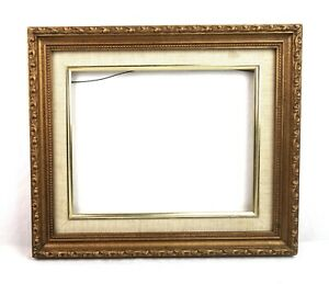 Vintage-Antique-Style-Picture-Frame-Gold-Gilt-Gesso-Baroque-Fits-10-x-8