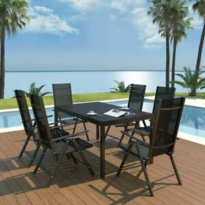 vidaXL-Outdoor-Dining-Set-Table-and-Folding-Chairs-7-Piece-WPC-Garden-Patio