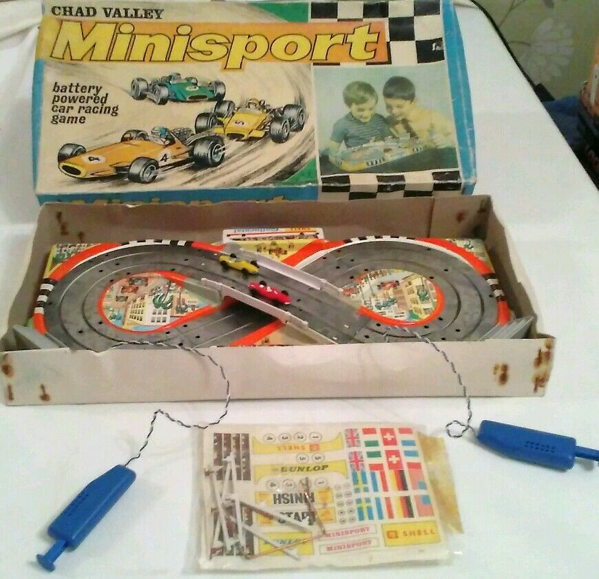 Rare Chad Valley MiniSport Set  ( MINI SCALEXTRIC )