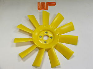 CLASSIC-MINI-ROVER-MORRIS-YELLOW-THICK-PLASTIC-COOLING-FAN-11-Blade-12G2129