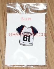 EXO DDP STARDIUM SMTOWN SUM OFFICIAL GOODS RUGBY CHANYEOL PIN BADGE NEW
