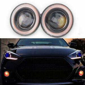 2-5-034-COB-LED-Luz-de-Niebla-Proyector-Coche-Angel-Eyes-Halo-Anillo-Luz-Antiniebla-DRL-BOMBILLAS