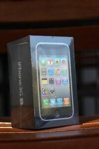 Apple-iPhone-3GS-Black-8GB-Brand-New-Factory-Sealed-2009-Big-Box-14-iCons-Rare
