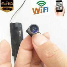 WIFI IP Wireless Camera 1080P HD 140° Wide angle Spy Camera Live Audio Recorder