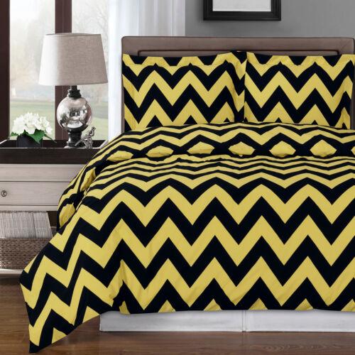 Duvet Covers Bedding Sets Chevron Contemporary Silky Soft Duvet Cover Set 100 Cotton 300 Tc Home Garden