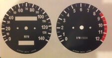 KAWASAKI KH250 KH400 INSTRUMENT SPEEDO AND TACHO CLOCK RESTORATION DECALS