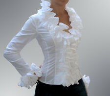"ANNE FONTAINE FRANCE ""KIMMY"" white TOP Blouse cotton Sz FR 40,"